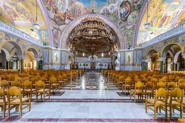 Agios Andreas of Patras, largest Church in Greece 5