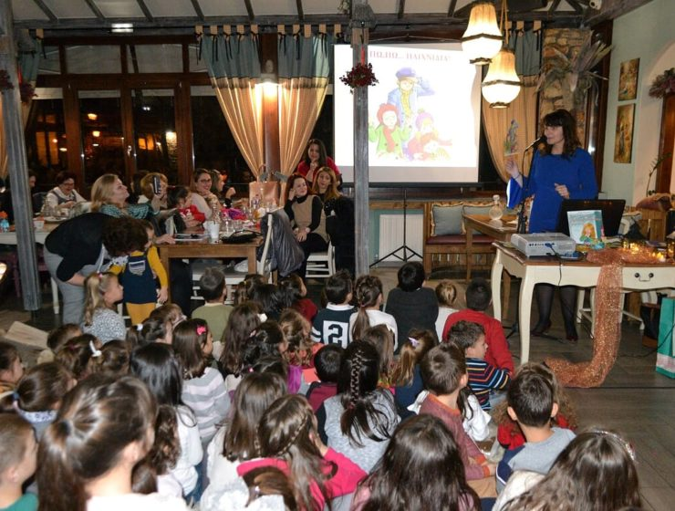 Award-winning Greek author writes kids' books, encouraging creative classroom learning 5