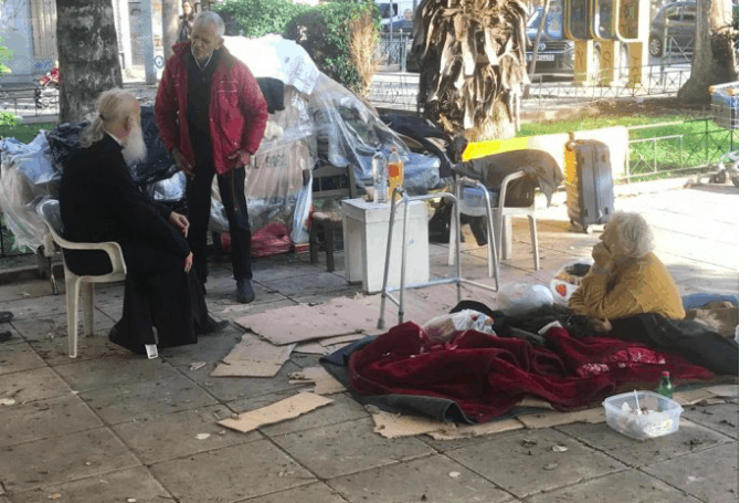 Archbishop Ieronymos offers to pay elderly homeless couple's rent and bills 22