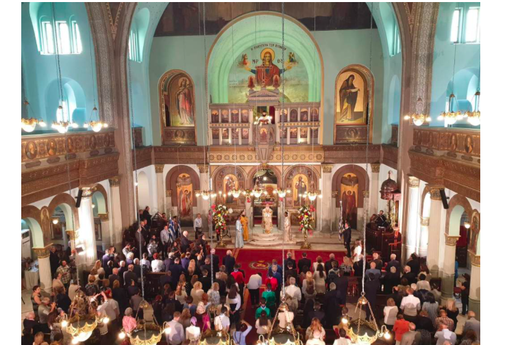 Historic Opening of Saints Constantine and Helen Church in Cairo 1