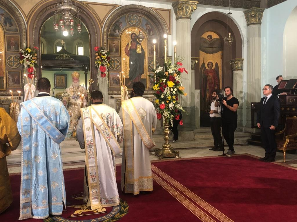 Historic Opening of Saints Constantine and Helen Church in Cairo 7