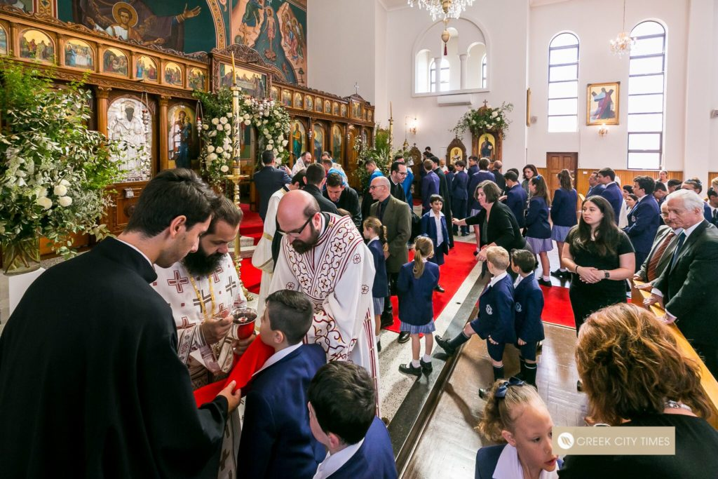 St Spyridon College Divine Liturgy celebrated by His Eminence Archbishop Makarios 31