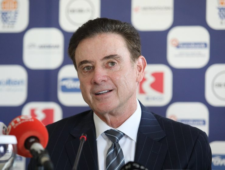"""Greece's new coach Pitino says """"I'm now a Greek for eight months"""" 1"""