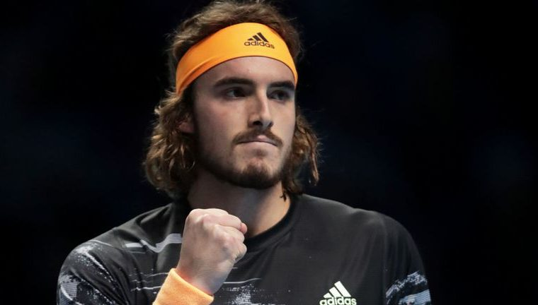Tsitsipas smashes his way into semi-final of ATP Finals 8
