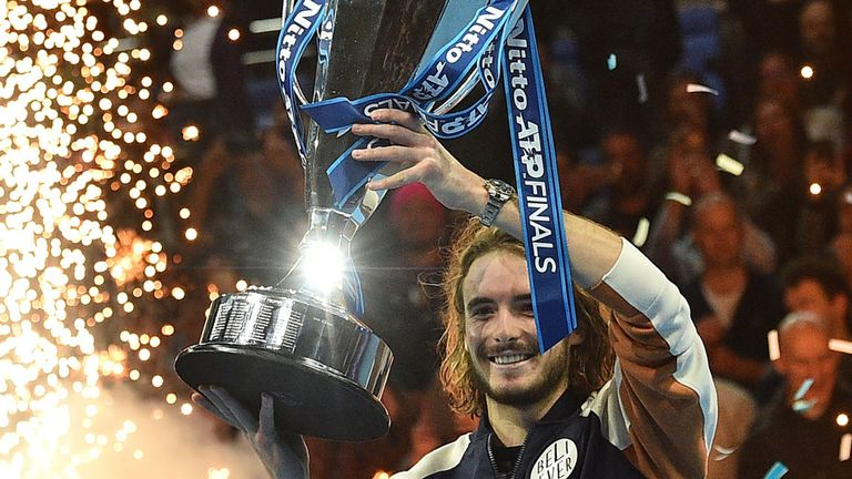 Tsitsipas makes history, capturing biggest title of his career 5