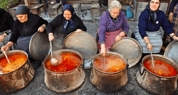 Greece's traditional day for cooking Polysporia 2
