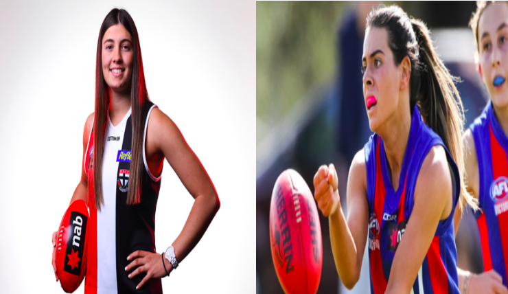 Two Greek Australian girls join St Kilda Football Club 87