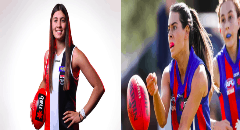 Two Greek Australian girls join St Kilda Football Club 2