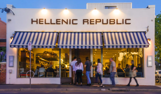 End of an Era in Melbourne as George Calombaris closes Hellenic Republic   1