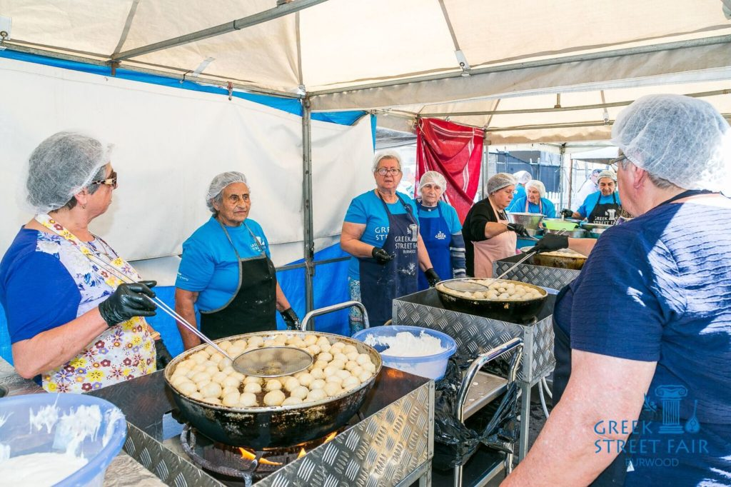 Greece's famous hospitality on display at Greek Street Fair Burwood   27