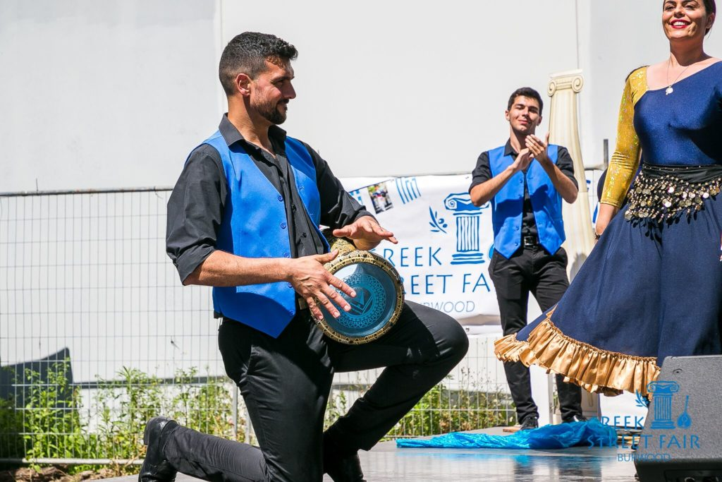 Greece's famous hospitality on display at Greek Street Fair Burwood   46