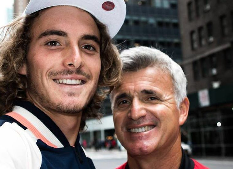 "Apostolos Tsitsipas, proud dad and coach of Stefanos, says his son has ""taught him so much""    2"