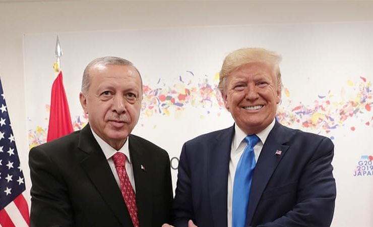 "After a meeting at the White House, Trump reveals he's a ""big fan"" of Erdogan (VIDEO) 3"