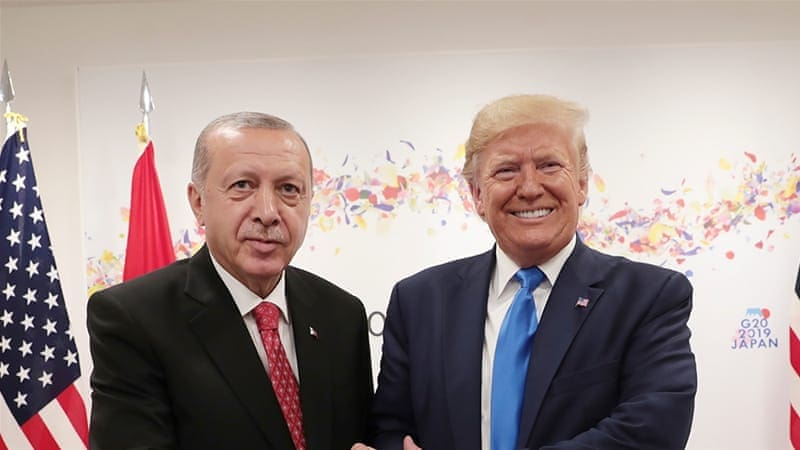 """After a meeting at the White House, Trump reveals he's a """"big fan"""" of Erdogan (VIDEO) 2"""
