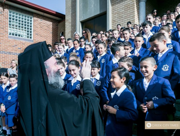 St Spyridon College Divine Liturgy celebrated by His Eminence Archbishop Makarios 34