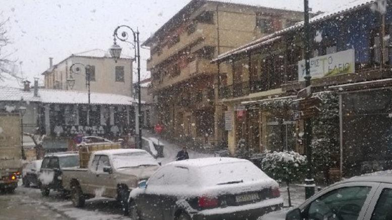 Metsovo receives first enchanting snow for the season (VIDEO) 4