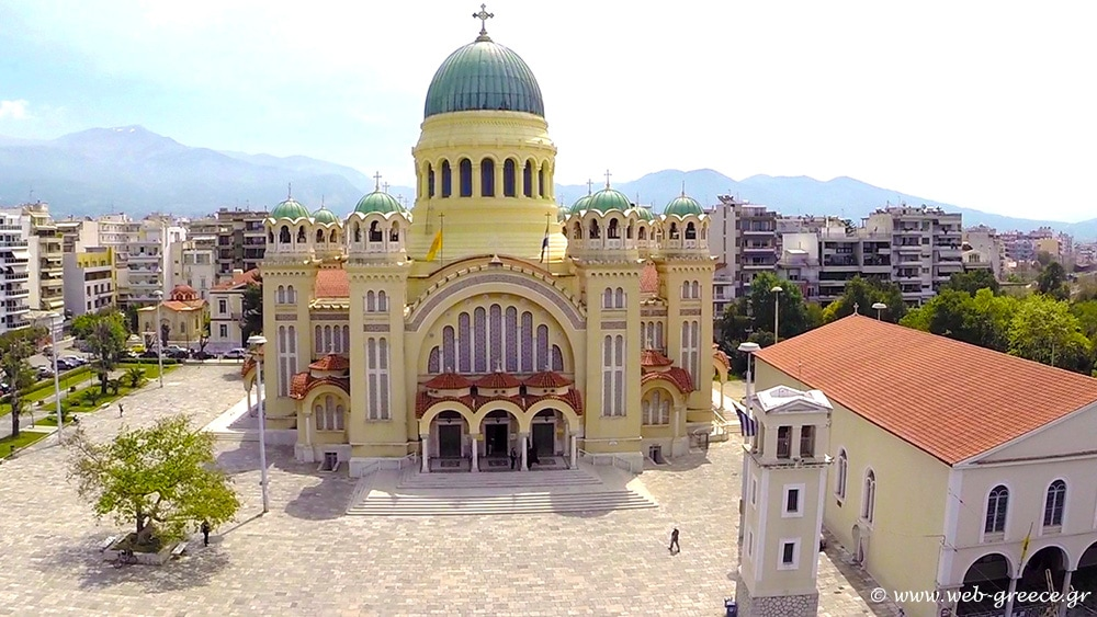 Agios Andreas of Patras, largest Church in Greece 1
