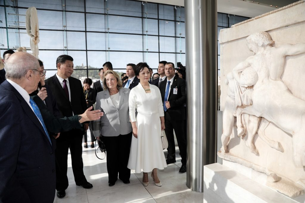 The Parthenon Sculptures must return to Greece, says China's President 8