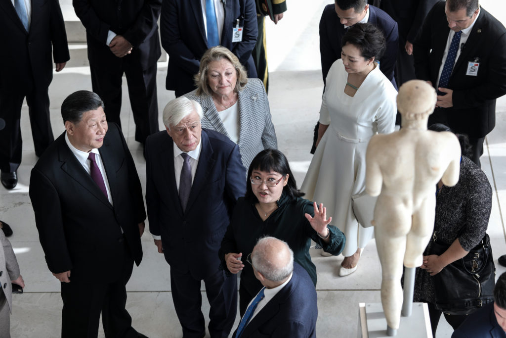 The Parthenon Sculptures must return to Greece, says China's President 7