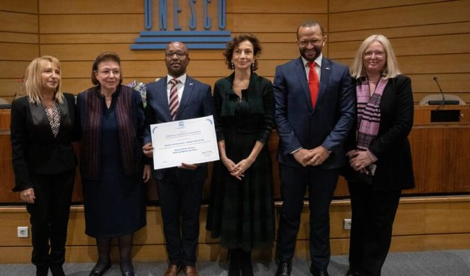 UNESCO awards Melina Mercouri Prize for Cultural heritage protection to island nation of Cabo Verde 2