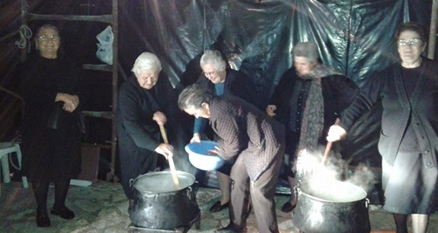 Greece's traditional day for cooking Polysporia 1