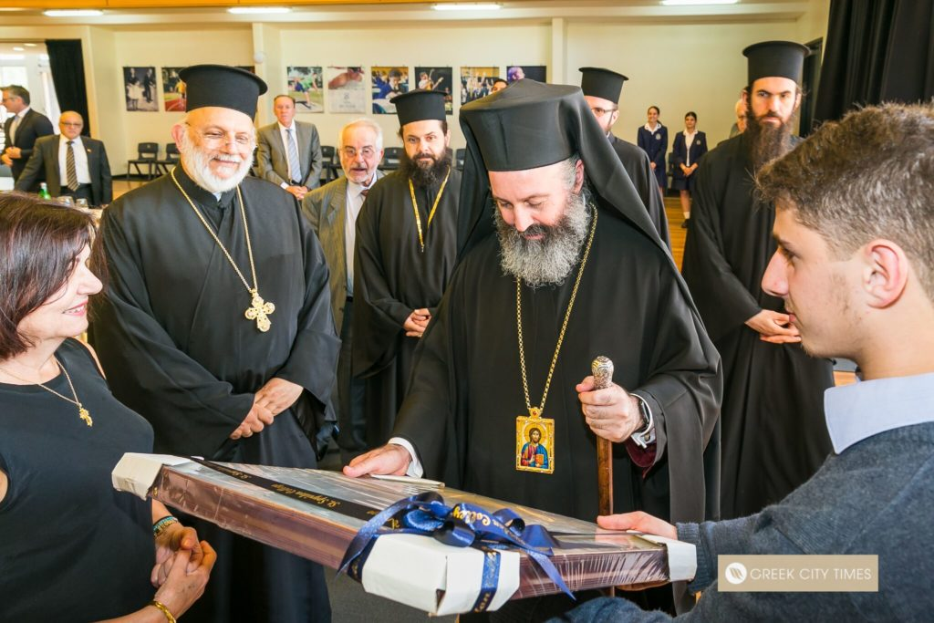 St Spyridon College Divine Liturgy celebrated by His Eminence Archbishop Makarios 36