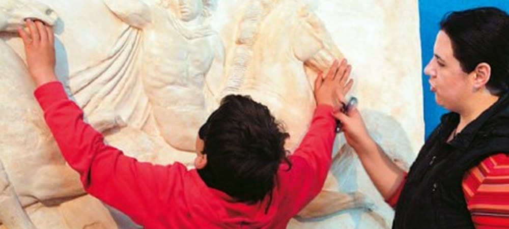 Athens' 'Tactual Museum' allows blind people to 'get in touch' with Greek culture 4