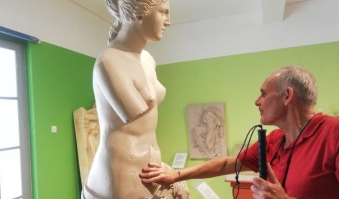Athens' 'Tactual Museum' allows blind people to 'get in touch' with Greek culture 1