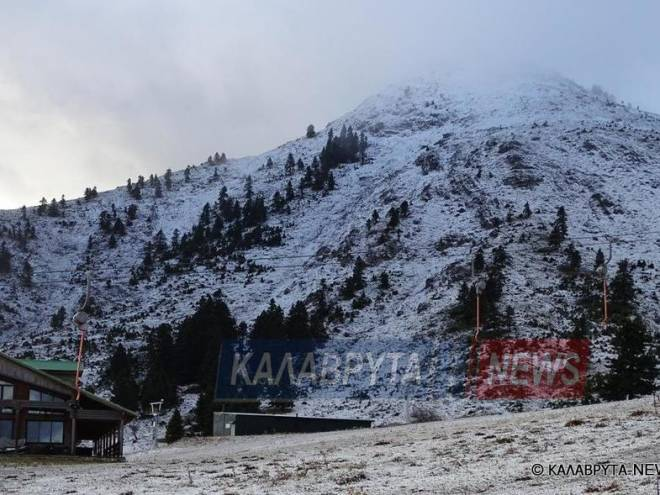 Metsovo receives first enchanting snow for the season (VIDEO) 3