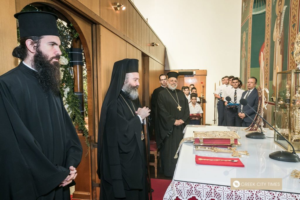 St Spyridon College Divine Liturgy celebrated by His Eminence Archbishop Makarios 22