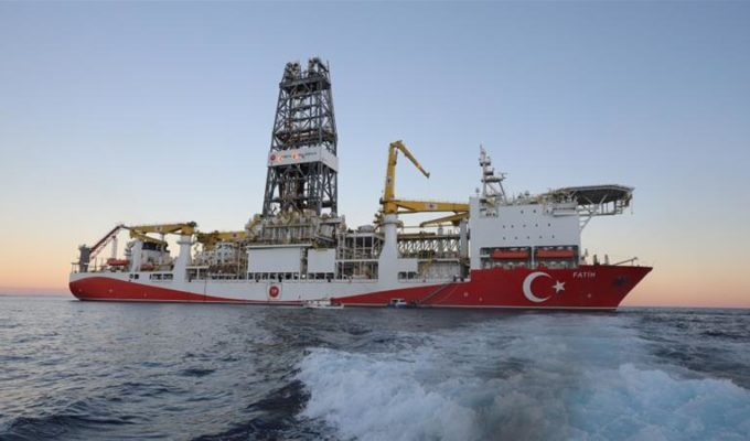 turkish oil drilling