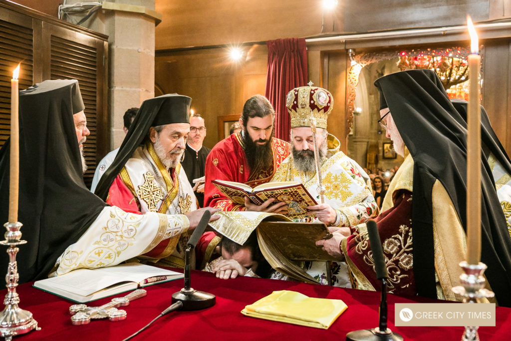 The ordination of Bishop Emilianos on Christmas Day 15