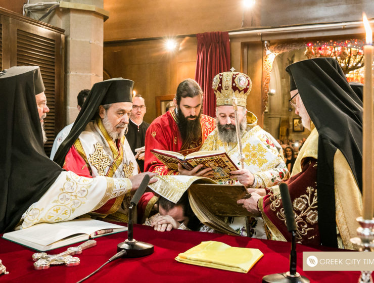 The ordination of Bishop Emilianos on Christmas Day 7