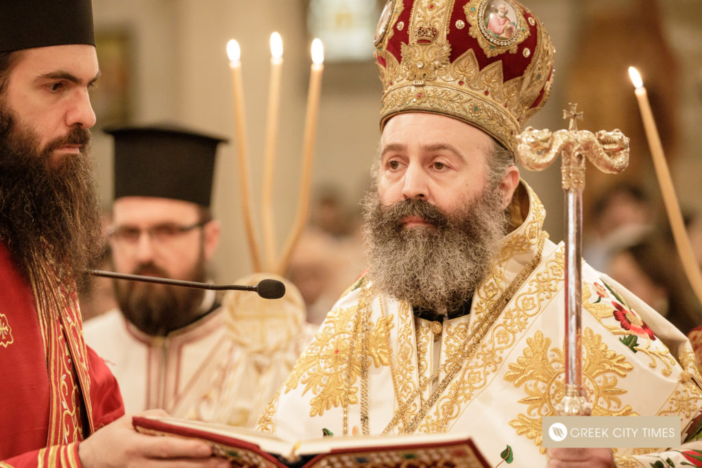 The ordination of Bishop Emilianos on Christmas Day 18
