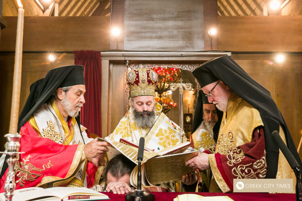 The ordination of Bishop Emilianos on Christmas Day 20