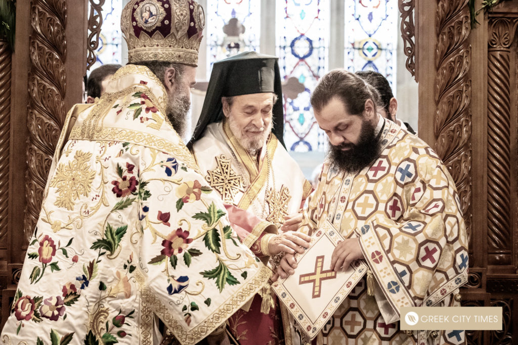 The ordination of Bishop Emilianos on Christmas Day 21