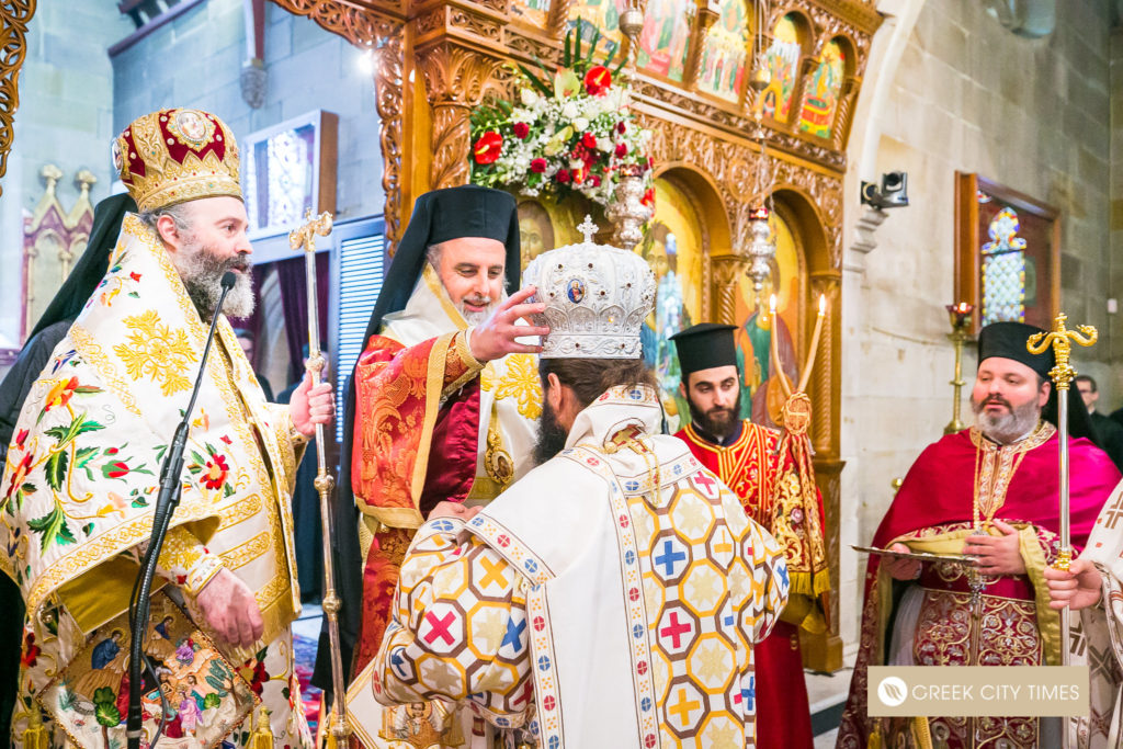 The ordination of Bishop Emilianos on Christmas Day 23