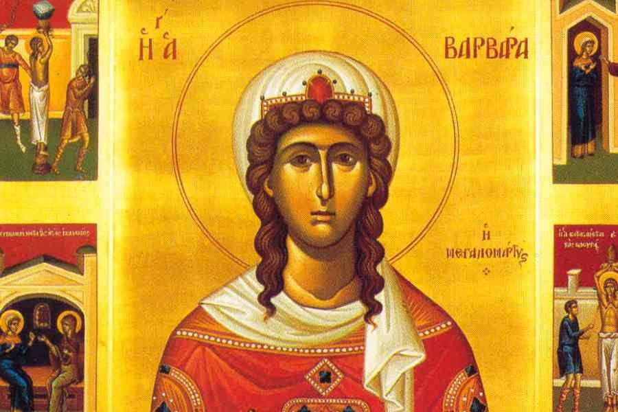 Feast Day of Agia Barbara the Great Martyr 6