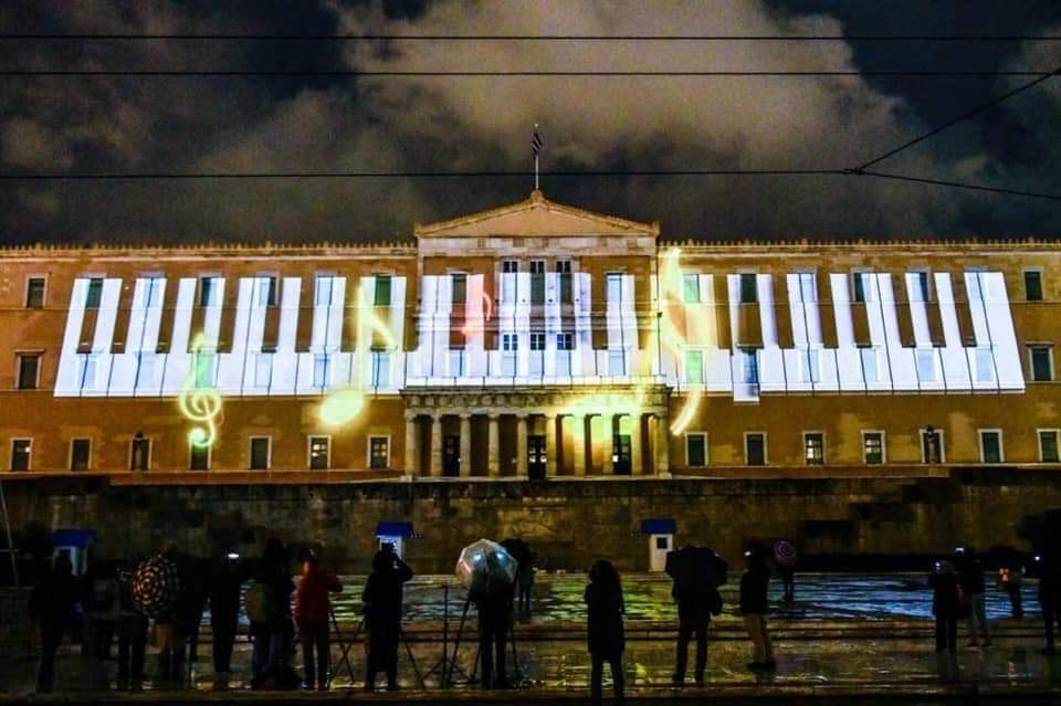 Athens' official Christmas tree lights up the Greek Capital for 2019 11