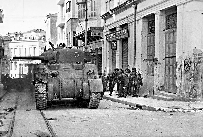 On this day in 1944, Dekemvriana shots are fired in Athens 8