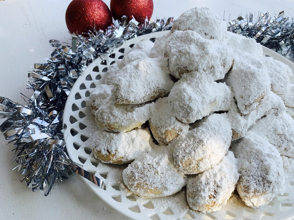 Traditional Kourabiedes Recipe in time for Christmas 3