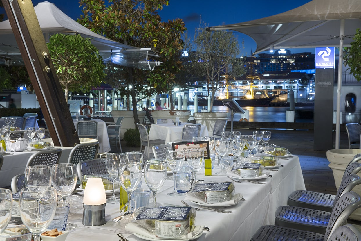 NYE White Party 2019 | Georges Mediterranean Bar & Grill 17