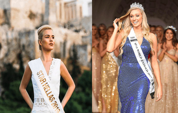 Miss Hellas claims she was viciously attacked by Miss Australia  2