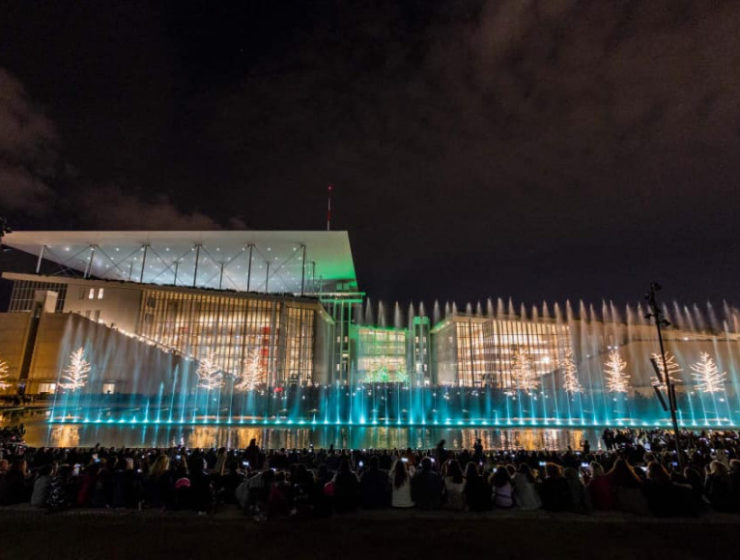 Christmas comes alive at Stavros Niarchos Foundation Cultural centre 16
