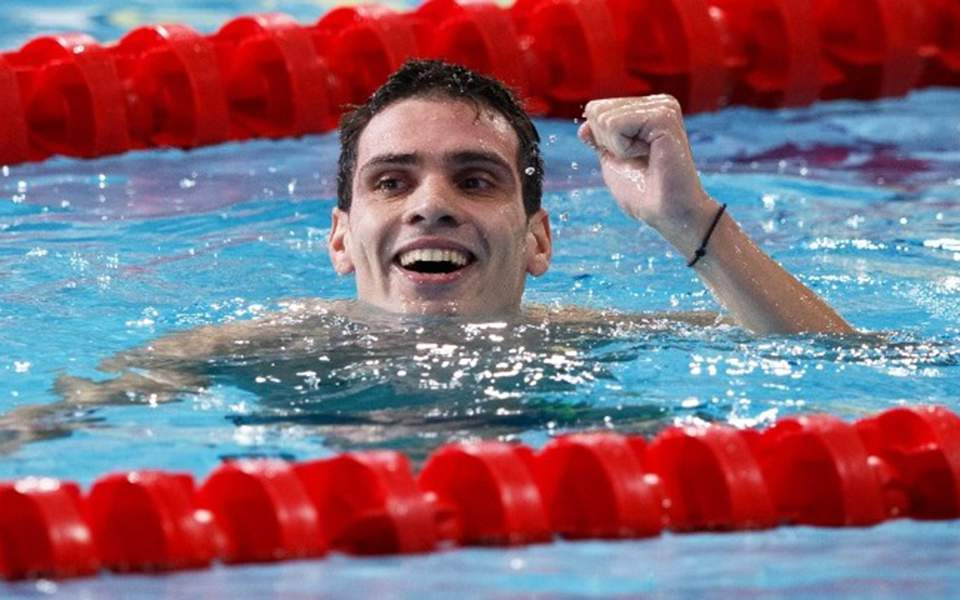 Greece's Andreas Vazaois Wins Second Gold Medal at European Swimming Championships 2