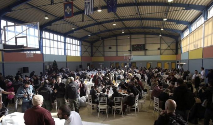 City of Athens hosts Christmas lunch for the homeless 14