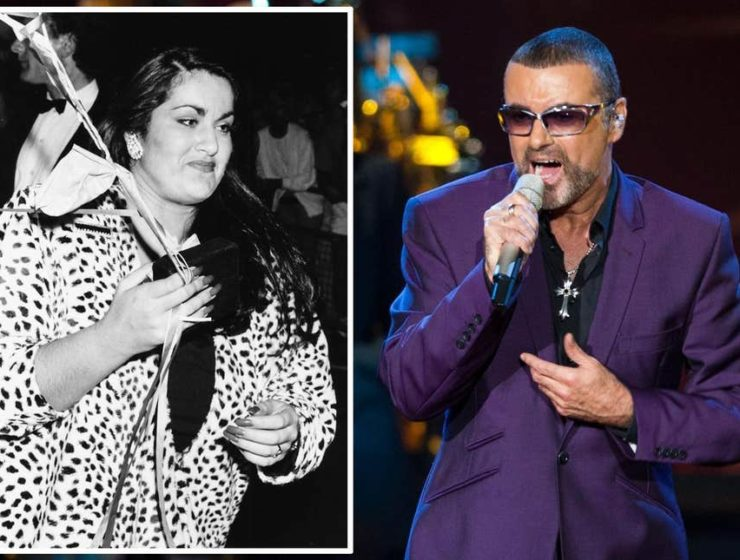 George Michael and Melanie Panayiotou