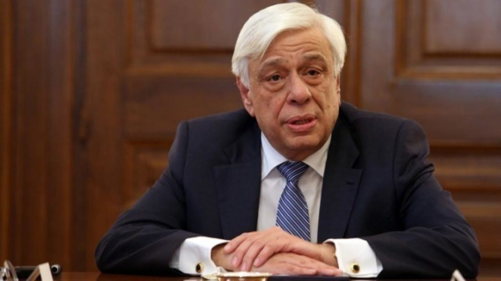 The President of the Hellenic Republic, Mr Prokopios Pavlopoulos