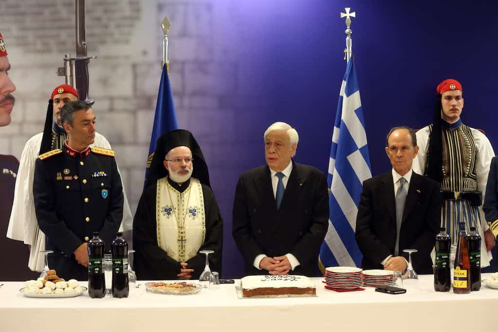 """Greece will defend its national issues """"against anyone who threatens them"""" : Greek President 4"""