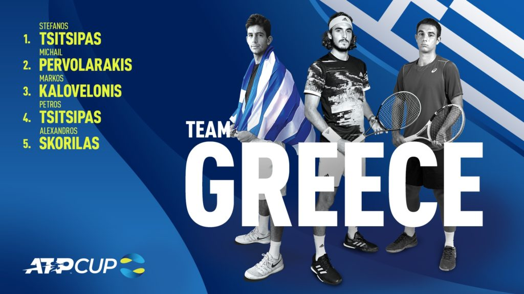 Team Greece ATP Tour